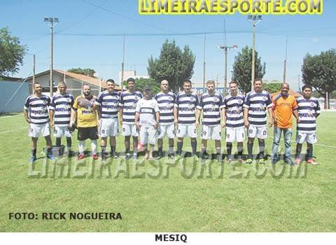 Mesiq leva o título no Futebol Society