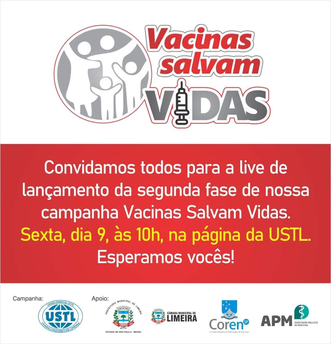 Vacinas Salvam Vidas!